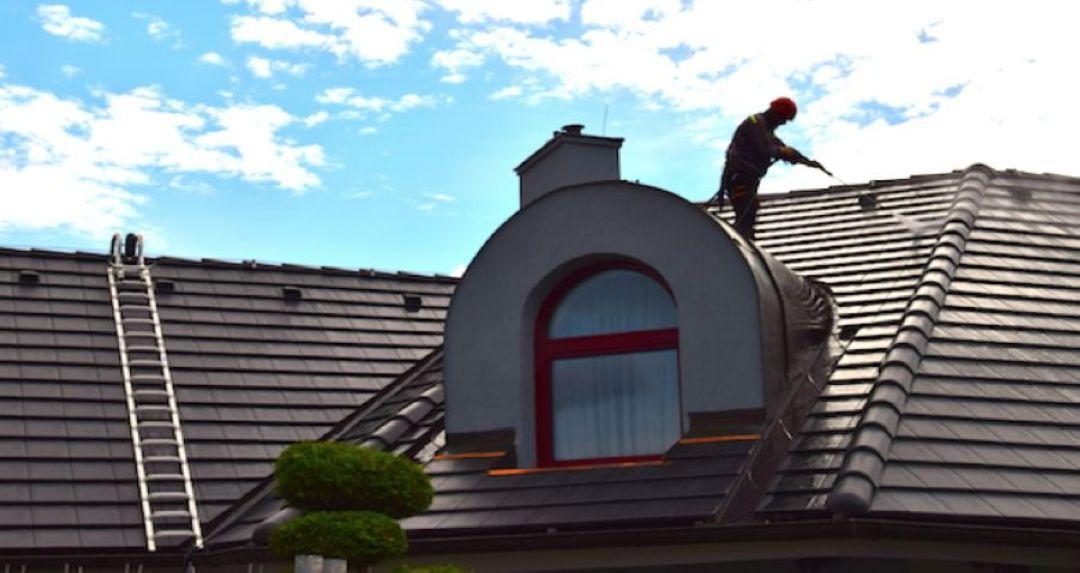 Čistění a mytí střech
