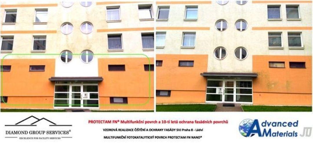 Údržba fasád a fasádní systém ETICS