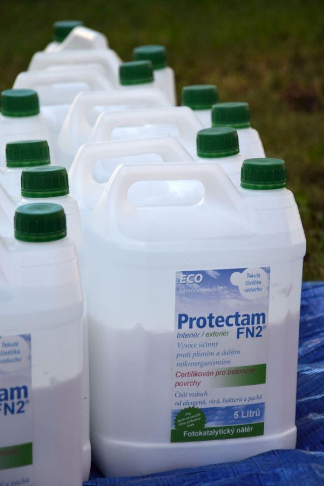 Samočistící ochrana fasád