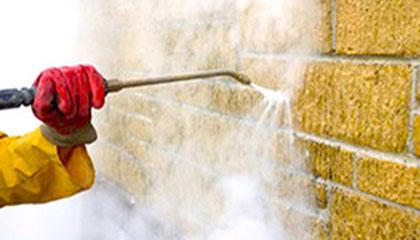 Strojové mytí fasád