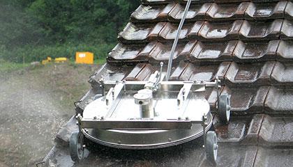 Strojové čištění střech