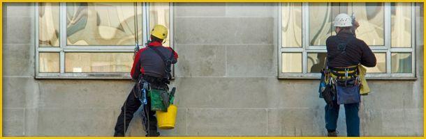 Výškové mytí oken a skel 05