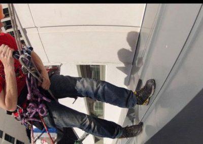 Výškové mytí oken a skel 07
